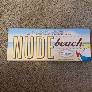 The Balm Nude beach volume 3 eyeshadow palette